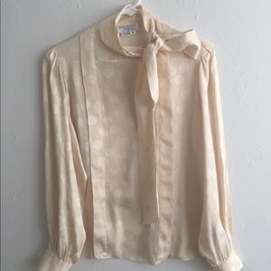 Vintage Givenchy blouse